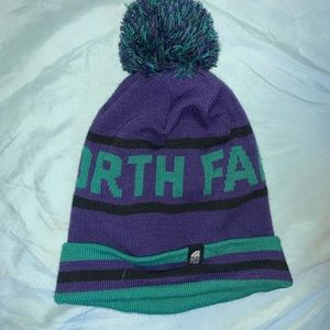The north face beanie worn once